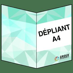 Dépliants 4 pages A4